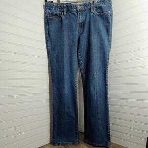 Ann Taylor Loft Curvy Boot Jeans - Size 12